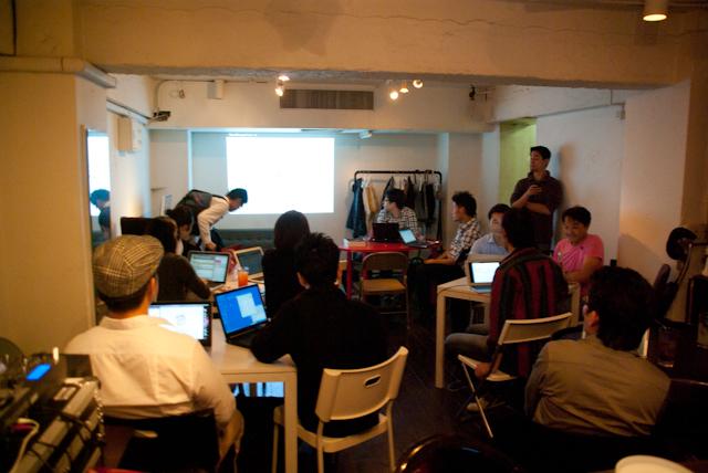 渋谷 JellyJellyCafe での WordPress × Jelly イベント