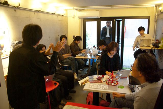 下北沢オープンソースカフェのコワーキングイベント