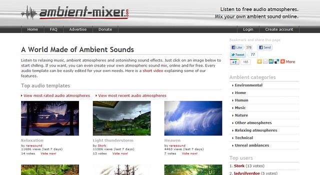 http://www.ambient-mixer.com