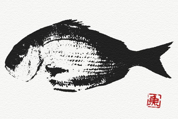 Photoshop魚拓チュートリアル