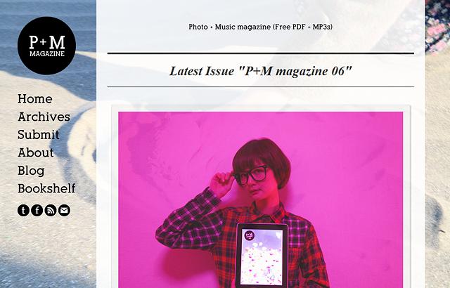 写真と音楽好きのためのPDFマガジン